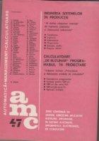 AMC Ingineria sistemelor productie Calculatoare