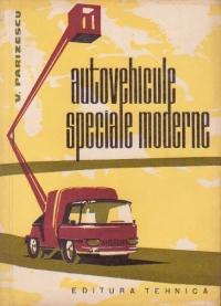 Autovehicule speciale moderne