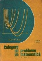 Culegere probleme matematica pentru treapta