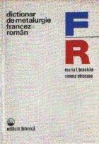 Dictionar metalurgie francez roman