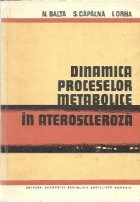 Dinamica proceselor metabolice in ateroscleroza