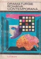 Dramaturgie romana contemporana, Volumul al II-lea