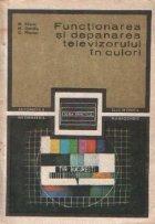 Functionarea depanarea televizorului culori