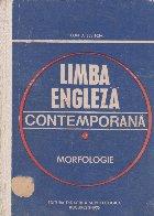 Limba engleza contemporana Morfologie
