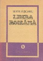 Limba Romana, Volumul I, Privire generala