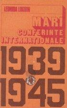 Mari Conferinte Internationale (1939 - 1945)
