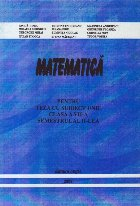 Matematica pentru teza cu subiect unic clasa a VII-a semestrul al II-lea