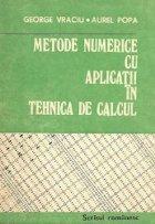 Metode numerice aplicatii tehnica calcul