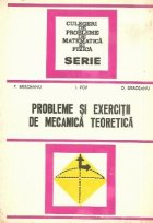 Probleme exercitii mecanica teoretica
