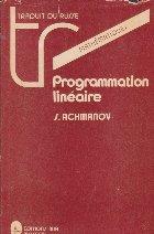 Programmation lineaire