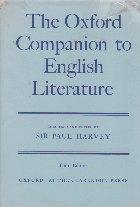 The English Companion to English Literature (Sir Paul Harvey)